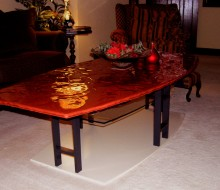 RubyRed Coffee Table ©