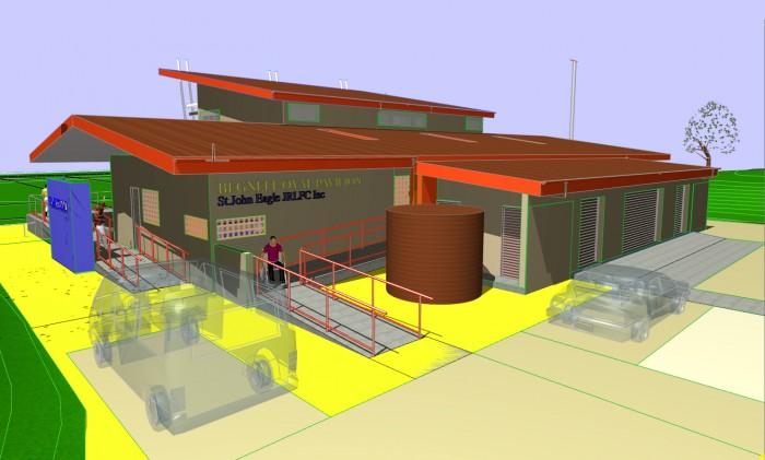 Sports Pavilion : Strathfield