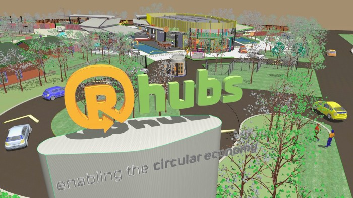 R-Hubs Drive Thru Recycling Centre Penrith